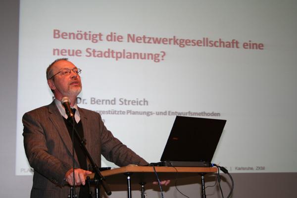 Prof. Bernd Streich, Computergestützte Planungs- und Entwurfsmethoden, TU Kaiserslautern Neue Planungsansätze durch die Wissensgesellschaft?